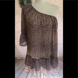 One shoulder Tunic!